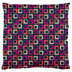 Abstract Squares Standard Flano Cushion Case (Two Sides)
