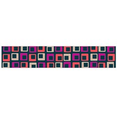 Abstract Squares Flano Scarf (Large)