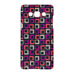 Abstract Squares Samsung Galaxy A5 Hardshell Case