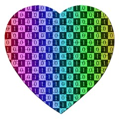 Checker Number One Jigsaw Puzzle (Heart)