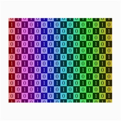Checker Number One Small Glasses Cloth
