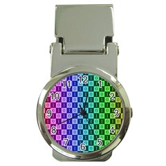 Checker Number One Money Clip Watches
