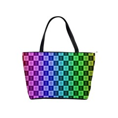 Checker Number One Shoulder Handbags