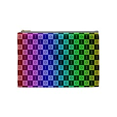 Checker Number One Cosmetic Bag (Medium)