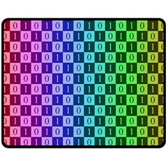 Checker Number One Fleece Blanket (Medium)