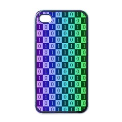 Checker Number One Apple iPhone 4 Case (Black)