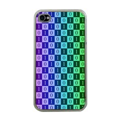 Checker Number One Apple iPhone 4 Case (Clear)