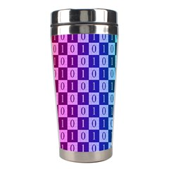 Checker Number One Stainless Steel Travel Tumblers