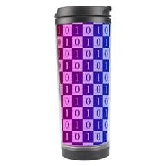 Checker Number One Travel Tumbler