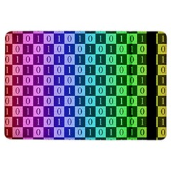 Checker Number One iPad Air Flip