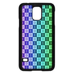 Checker Number One Samsung Galaxy S5 Case (Black)