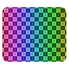 Checker Number One Double Sided Flano Blanket (Small)