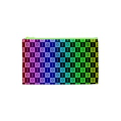 Checker Number One Cosmetic Bag (XS)