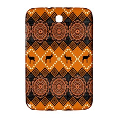 African Pattern Deer Orange Samsung Galaxy Note 8.0 N5100 Hardshell Case