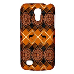 African Pattern Deer Orange Galaxy S4 Mini
