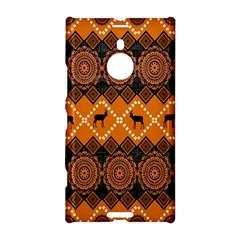 African Pattern Deer Orange Nokia Lumia 1520