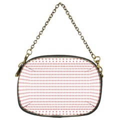 Dalmatian Red Circle Chain Purses (Two Sides)