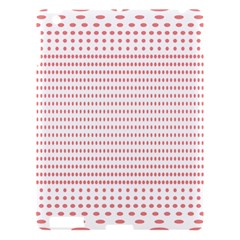 Dalmatian Red Circle Apple iPad 3/4 Hardshell Case