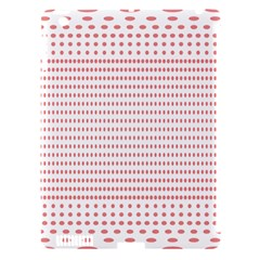 Dalmatian Red Circle Apple iPad 3/4 Hardshell Case (Compatible with Smart Cover)