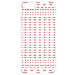 Dalmatian Red Circle Apple iPhone 5 Classic Hardshell Case