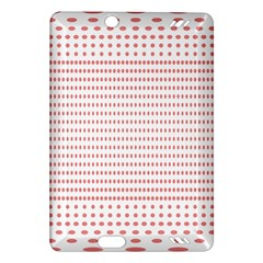Dalmatian Red Circle Amazon Kindle Fire HD (2013) Hardshell Case