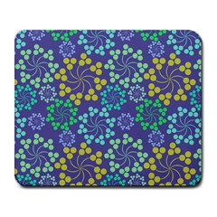 Color Variationssparkles Pattern Floral Flower Purple Large Mousepads
