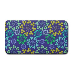Color Variationssparkles Pattern Floral Flower Purple Medium Bar Mats