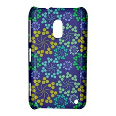 Color Variationssparkles Pattern Floral Flower Purple Nokia Lumia 620