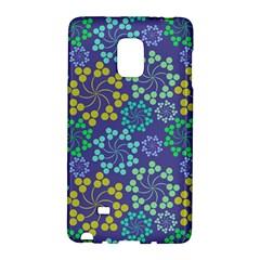Color Variationssparkles Pattern Floral Flower Purple Galaxy Note Edge