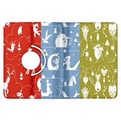 Deer Animals Swan Sheep Dog Whale Animals Flower Kindle Fire HDX Flip 360 Case