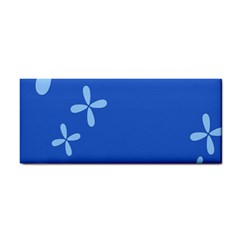 Flower Floral Blue Cosmetic Storage Cases