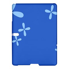 Flower Floral Blue Samsung Galaxy Tab S (10.5 ) Hardshell Case