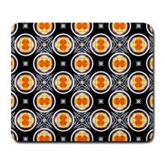 Egg Yolk Large Mousepads