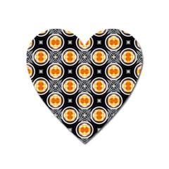 Egg Yolk Heart Magnet