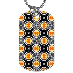 Egg Yolk Dog Tag (Two Sides)