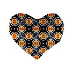 Egg Yolk Standard 16  Premium Heart Shape Cushions