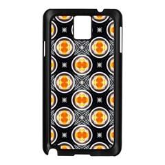 Egg Yolk Samsung Galaxy Note 3 N9005 Case (Black)
