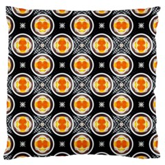 Egg Yolk Large Flano Cushion Case (Two Sides)