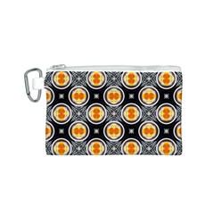 Egg Yolk Canvas Cosmetic Bag (S)