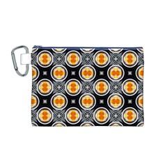 Egg Yolk Canvas Cosmetic Bag (M)