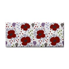 Flower Floral Rose Leaf Red Purple Cosmetic Storage Cases