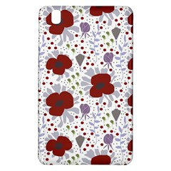 Flower Floral Rose Leaf Red Purple Samsung Galaxy Tab Pro 8.4 Hardshell Case