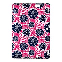 Flower Floral Rose Purple Pink Leaf Kindle Fire Hdx 8 9  Hardshell Case