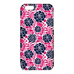 Flower Floral Rose Purple Pink Leaf iPhone 6/6S TPU Case