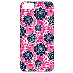 Flower Floral Rose Purple Pink Leaf Apple iPhone 5 Classic Hardshell Case