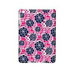 Flower Floral Rose Purple Pink Leaf iPad Mini 2 Hardshell Cases