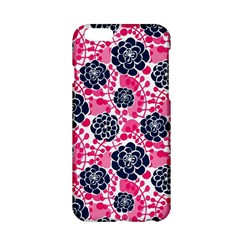 Flower Floral Rose Purple Pink Leaf Apple iPhone 6/6S Hardshell Case