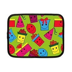 Happy Birthday Background Netbook Case (Small)