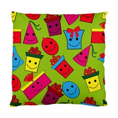 Happy Birthday Background Standard Cushion Case (Two Sides)