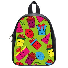 Happy Birthday Background School Bags (Small)